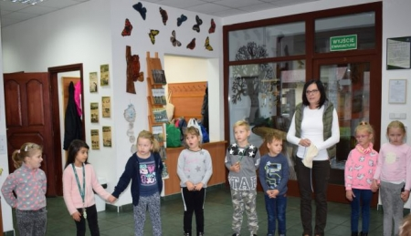 Wizyta w Ośrodku Edukacji Przyrodniczo - Leśnej w Kliniskach
