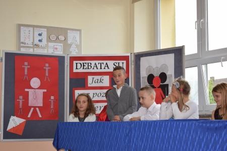 Debaty i wybory do Samorządu Uczniowskiego kl. 4 SP - III gimnazjum