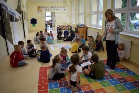 Pogotowie koleżeńskie - czyli współpraca uczniów klas 1'A