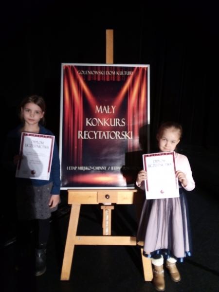 Mały Konkurs Recytatorski 2019 - etap gminny
