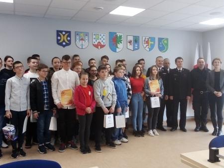 Eliminacje powiatowe Ogólnopolskiego Turnieju Wiedzy Pożarniczej