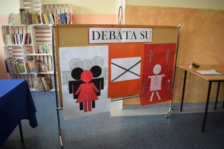 Debata do Samorządu Uczniowskiego klas IV-VIII