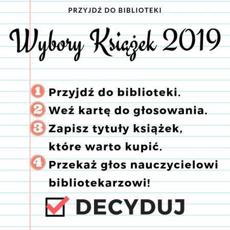 Wybory Książek 2019
